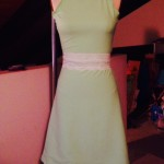 Lime green dress (2016)