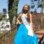 2015- Gown for 1st Runner Up Miss Preteen California
