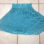 Blue summer skirt (2016)