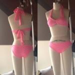 Pink Polka Dot bikinis (2015)