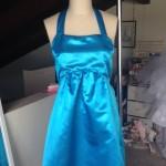 Pleated Blue Dress (2014)