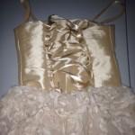 Gold Corset Dress