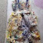Splatter Paint Dress (2015)