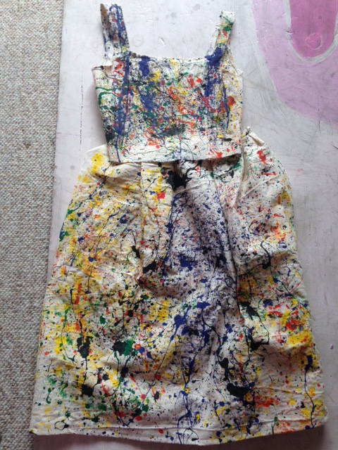Splatter Paint Dress (2015)