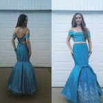 2016-Pageant Mermaid Dress with 1,000 Swaroski Crystals