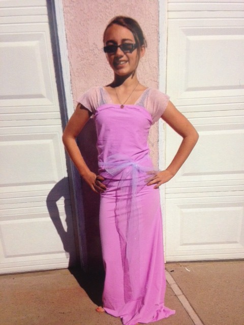 Purple All About Me Dress