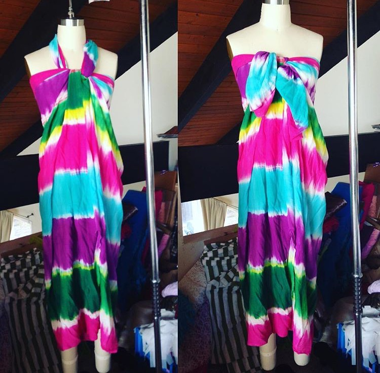 Tie Die Summer Dress (2017)