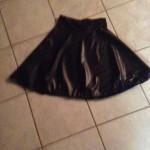 Black Leather Skirt (2015)